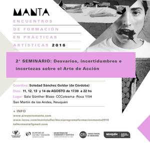 Manta - taller 2016
